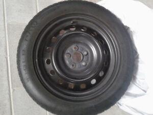 "16"" Uniroyal Winter tires on RIMS"
