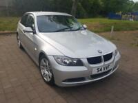 2008 BMW 3 SERIES 320d SE AUTO SILVER 4 DOOR LOW MILEAGE TOP SPEC LEATHERS