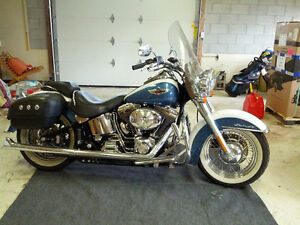 Harley Davidson Softail Deluxe Showroom Condition