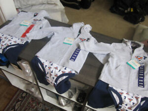 Disney Baby, Baby Boy 9 & 12 Month 3-piece outfits, BNWT
