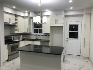 Newly Renovated Spacious 4 Bedroom Home!