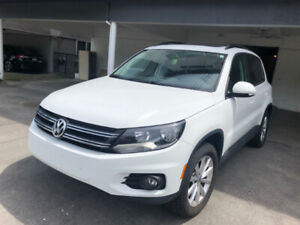 Lease Takeover 2017 VW Tiguan Wolfsburg w/ Panoramic Sunroof LOW