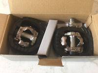 SHIMANO DX CLIP IN PEDALS NEW IN THE BOX! $60