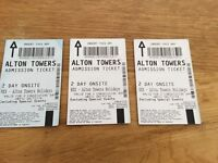 Alton Towers Tickets valid til 6/11/2016 - 2 day tickets