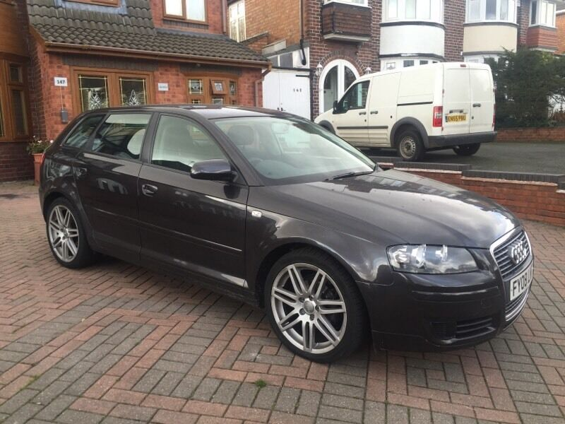 audi a3 1 9 tdi sportback 2008 5 door with s line alloys. Black Bedroom Furniture Sets. Home Design Ideas