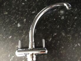 Monobloc mixer kitchen tap