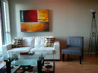 September: Furnished 2 Bedroom Downtown Condo @ York and Bremner