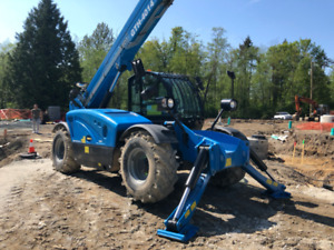 2017 GENIE GTH4014 Telehandler - 328 Hours - Comes With Warranty