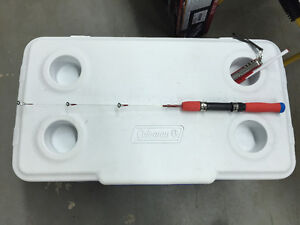 New ice fishing rod, two section $8/1,  $12/2, $15/3
