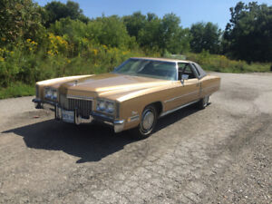 1972 8.2L Cadillac Eldorado. Clean only 56000 miles must see!!