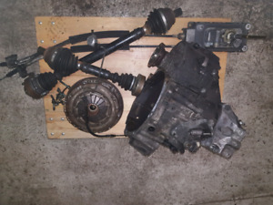 99-2005 VW jetta/golf 1.8T 6 speed 02M transmission compete swap