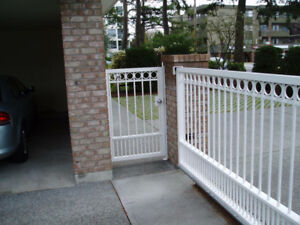 Aluminum & Glass Railings special