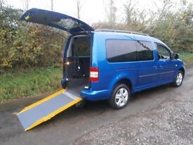 2013 Volkswagen Caddy Maxi Life 1.6 TDI BlueMotion Tech 5dr DSG WHEELCHAIR AC...