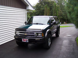 "1996 Chevrolet S-10 ZR2 Pickup Truck 'Sold"""