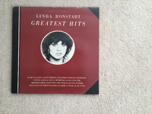 Linda Ronstadt Greatest Hits Vols #1 and #2 33 1/3 RPM vinyl LP