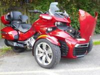 16/16 CAN-AM SPYDER F3 T LIMITED 1330 ACE EXTRAS 7,700 MILES