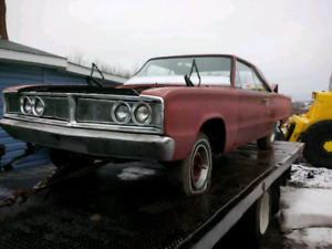 66 coronet.needs assembly.current value.12000.trades