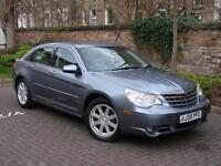 AA WARRANTY!! 2008 CHRYSLER SEBRING 2.0 CRD LIMITED 4dr, FULL LEATHER, LONG MOT