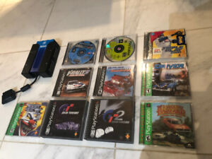 Playstation 1 Games: Twisted Metal 3, Gran Turismo 1 & 2, Driver