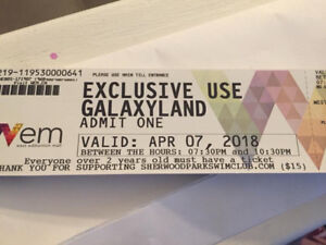 Galaxyland Tickets for April 7- great deal!