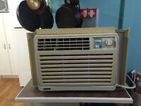 Good working smaller air conditioner includes delivery in town