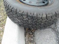 Winter Nordic tire with less than 3000 km on them