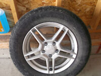 4 Michelin Tires with Rims