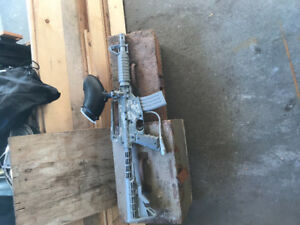 Replica m4 carbine paintball toy