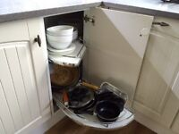 **REDUCED** Kitchen corner unit shelves. BRAND NEW STILL BOXED.** retails £250**