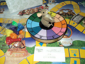 CHARMING TAILS COLLECTOR GAME -  NEW  - MOUSE SPINNING WHEEL