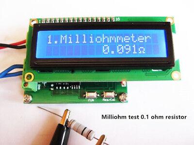 Milliohm meter low resistance tester ohmmeter measuring resistance value Milliohm-meter