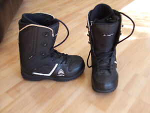 Firefly Snowboard Boots, men's size 8