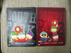 SOUTHPARK DVD SEASONS 1 , 2 , 3 , 4 , 6 , 12