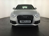 2013 63 AUDI Q3 S LINE TDI DIESEL 1 OWNER SERVICE HISTORY FINANCE PX WELCOME