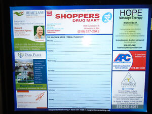 "HOPE Massage Therapy / Shoppers Drug Mart Dry Erase ""TO DO LIST"""