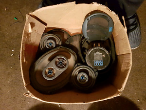 Car speakers and subs