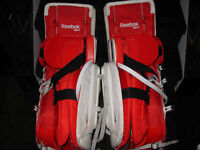 ***Reebok P4 Goalie Pads/Gloves PRO Custom Set***