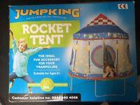 10ft rocket tent trampoline