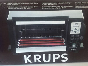 KRUPS FBC4 Convection Toaster Oven in box
