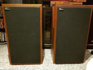 Ohm Model H speakers