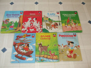 7 Disney Books