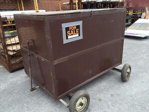 Large Job Box on Wheels
