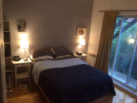 Sept-Dec, Gorgeous furnished room in plateau, large terrace