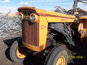 1960 Minneapolis GVI tractor for salvage