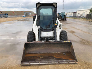 2012 BOBCAT S630 SKID STEER 2 SPEED TURBO, HIGHFLOW CAB $630/mo