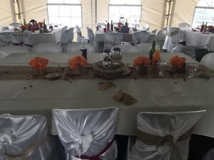Satin Chair Covers for Rent  Peterborough Peterborough Area image 1