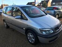 2005 Vauxhall/Opel Zafira Mot 08/11/2018