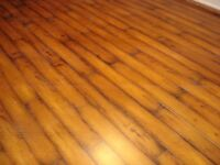 3 boxes laminate flooring
