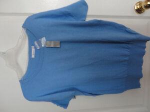 Women's Reitmans light blue cable knit sweater Size Medium NWT London Ontario image 4