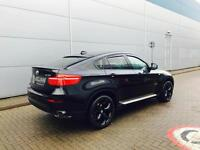 2009 59 reg BMW X6 xDrive X30d + BLACK + CREAM LEATHER + HUGE SPEC